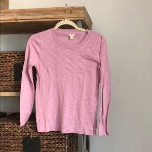 Light purple/pink JCrew Sweater